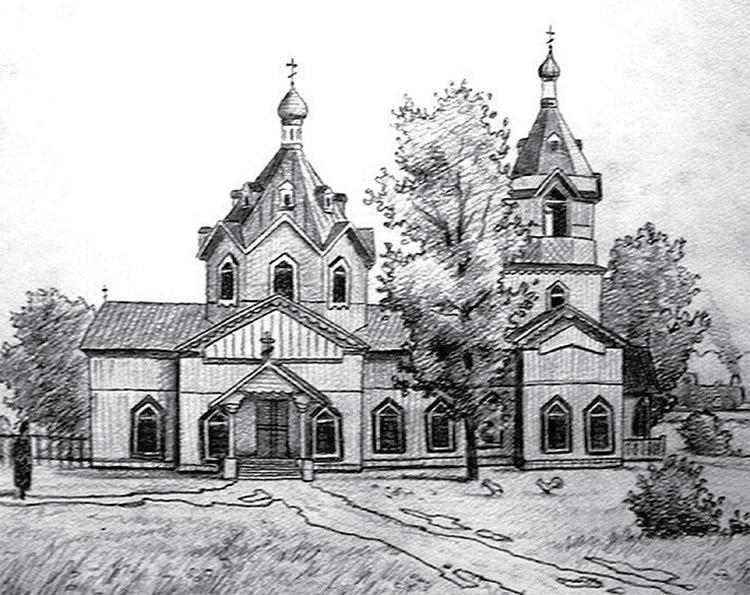 В 1916 году в станционном посёлке Зверево местные казаки, железнодорожники и крестьяне построили Свято-Никольскую церковь