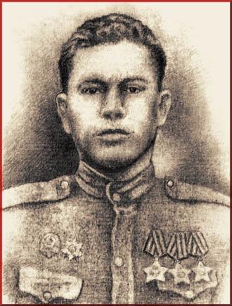 Младший лейтенант П.Я. Колесников