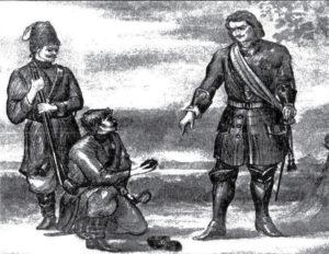 Летом 1696 года царю Петру, находящемуся тогда в Черкасском городке, донские казаки принесли куски каменного угля