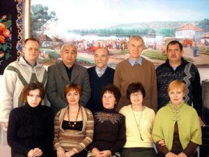 Зверевский поэтический клуб «Эвтерпа». В Зверевской краеведческой библиотеке, ноябрь 2009 года