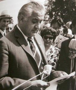 1-й секретарь Пензенского обкома КПСС Л.Б. Ермин