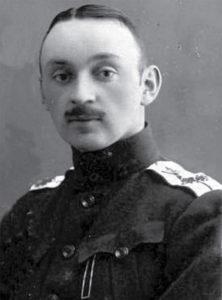 Командир белогвардейского Зверевского самолётного отряда подполковник П.С. Лавров